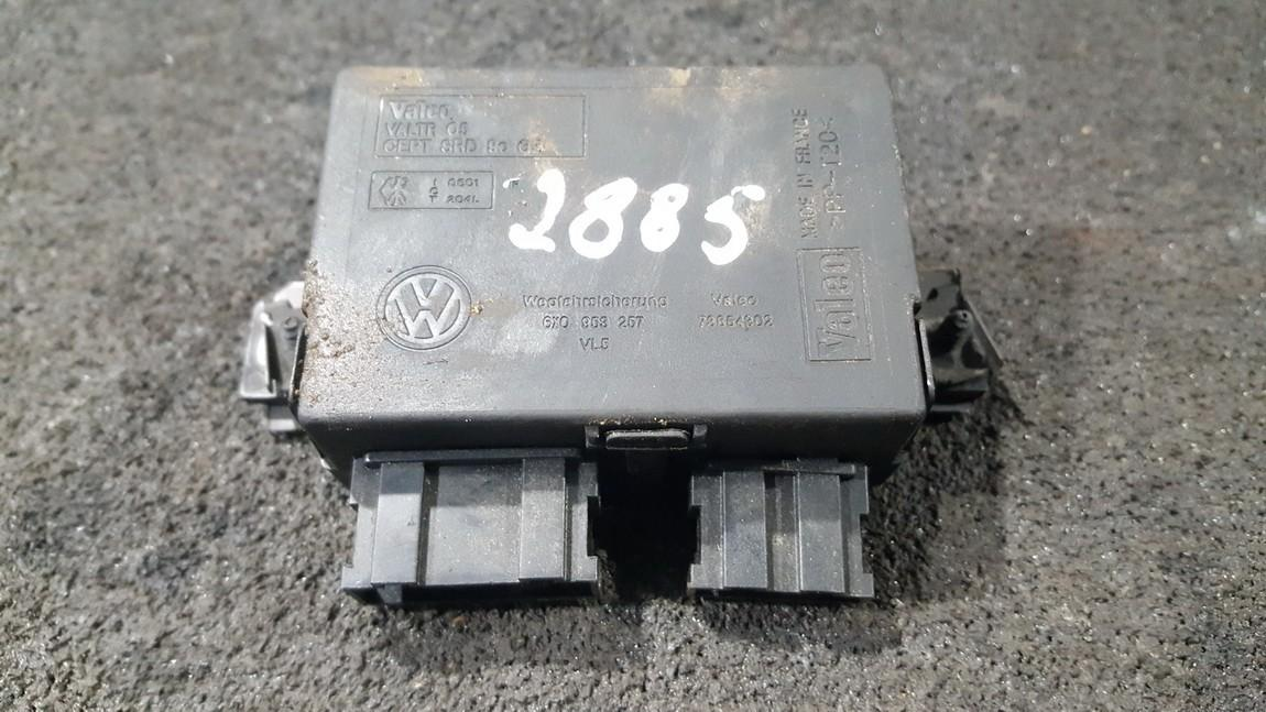 Imobilaizerio kompiuteris 6x0953257 73654302 Volkswagen POLO 2002 1.2