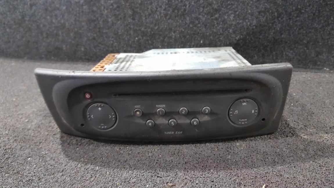Automagnetola 8200152346 nenustatyta Renault SCENIC 2004 1.5