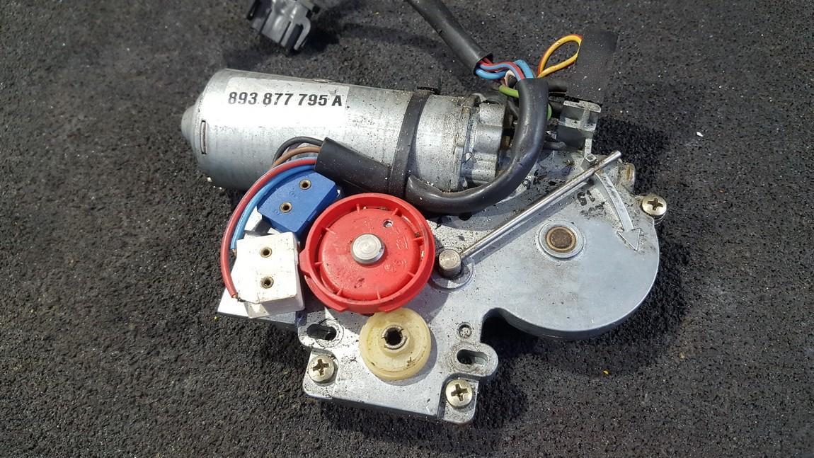 Sunroof Motor Audi 80 1993    1.8 893877795