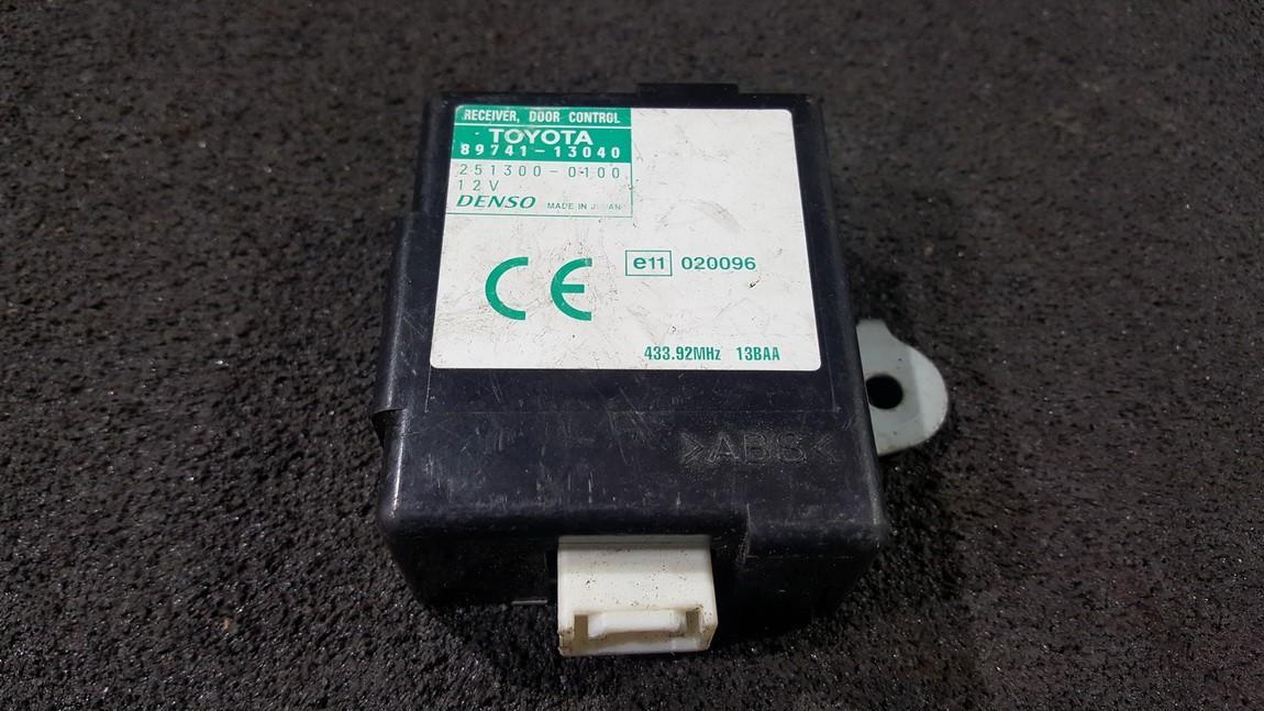 Door control relay (DOOR CONTROL UNIT MODULE ECU ) 8974113040 89741-13040, 251300-0100, 2513000100 Toyota COROLLA VERSO 2005 1.8