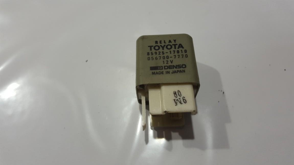 Блок электронный 8592517010 85925-17010, 056700-7770 Toyota PREVIA 2003 2.0