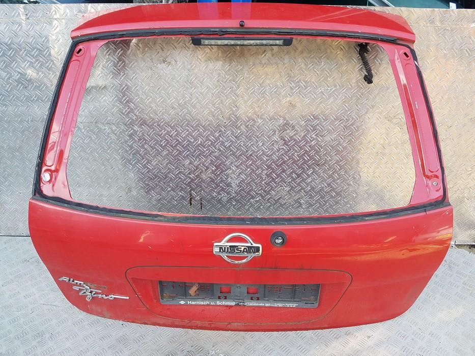 Rear hood Nissan  Almera Tino 2000.08 - 2003.09