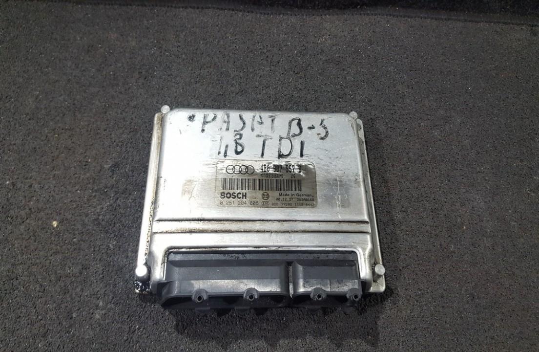 Блок управления двигателем 4B0907557B 0261204806, 26SA5168, 7720811120442 Audi A6 2008 2.0