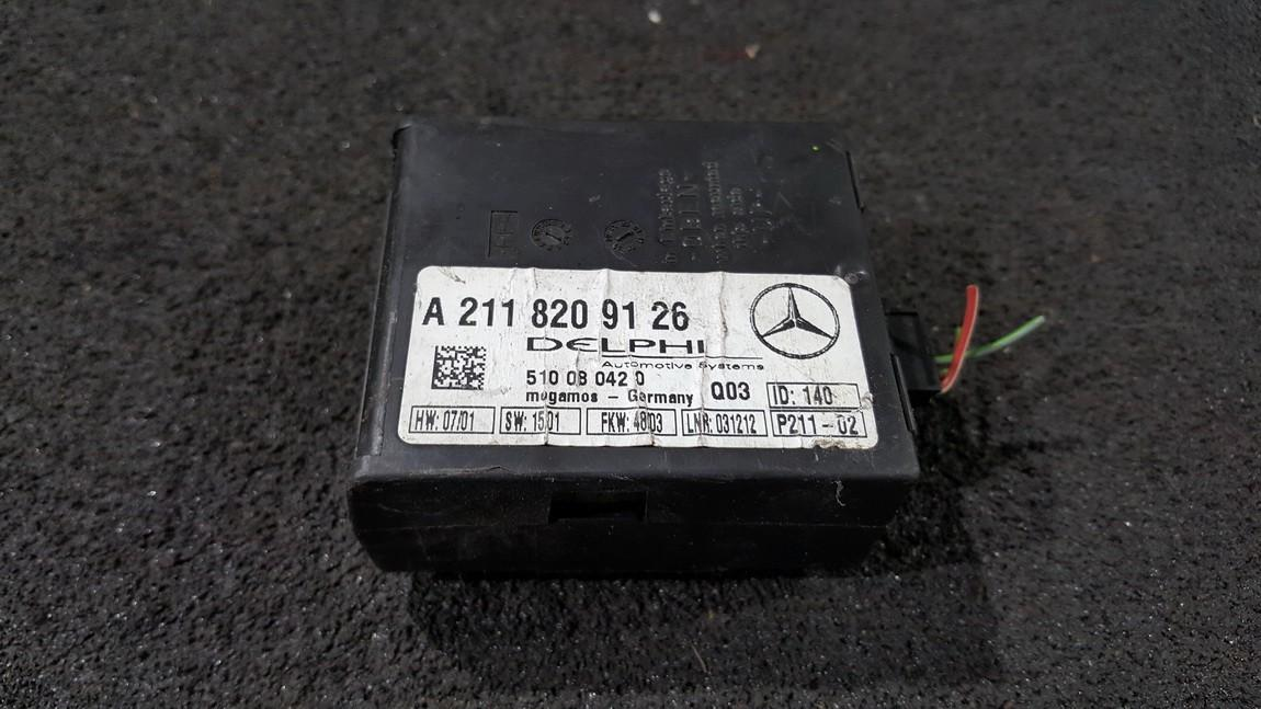 Kiti kompiuteriai A2118209126 510080420 Mercedes-Benz C-CLASS 1994 2.0
