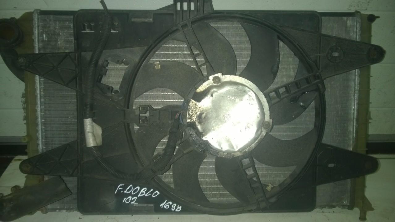 Difuzorius (radiatoriaus ventiliatoriaus) NENUSTATYTA NENUSTATYTA Fiat DOBLO 2008 1.3