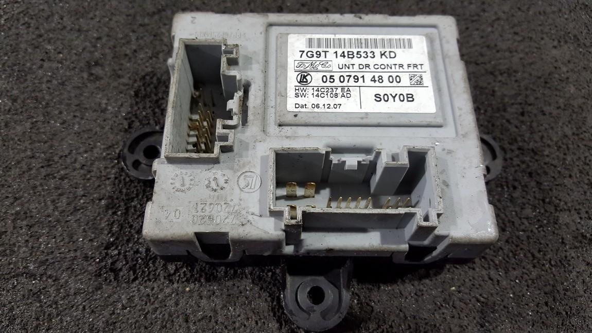Door control relay (DOOR CONTROL UNIT MODULE ECU ) 7G9T14B533KD 0507914800, 14C237EA, 14C108AD Ford MONDEO 2006 1.8