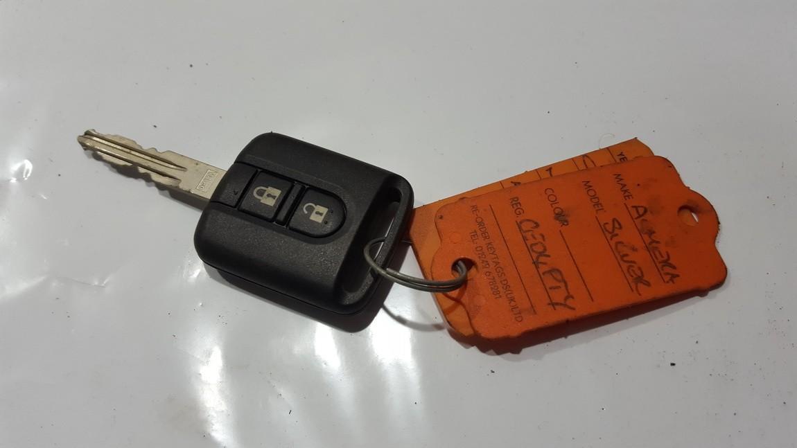 Ключ Зажигания 5wk4876 n/a Nissan ALMERA 2000 2.0