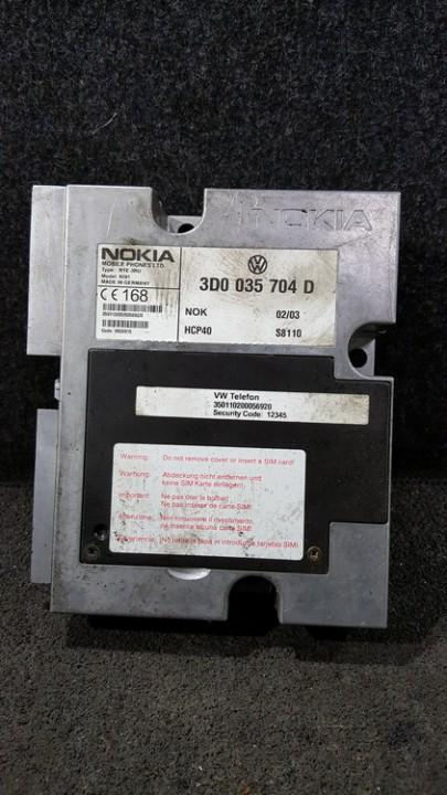 Kiti kompiuteriai 3D0035704D NENUSTATYTA Volkswagen PHAETON 2003 4.2