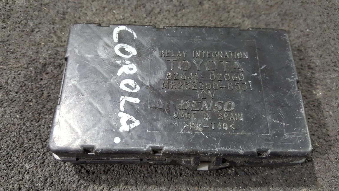 Kiti kompiuteriai 8264102060 82641-02060, MB232300-8531, MB2323008531 Toyota COROLLA 2003 1.6