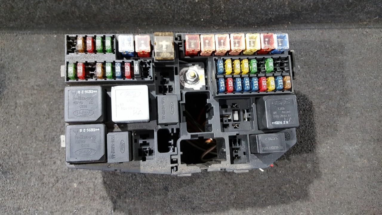 71544754 1X4314A076, 1X4314A481BA, 80154 Fuse box Jaguar X-Type 2003 on