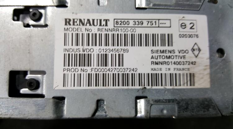 CD player NAVIGATION Renault Scenic 2005    0.0 8200339751
