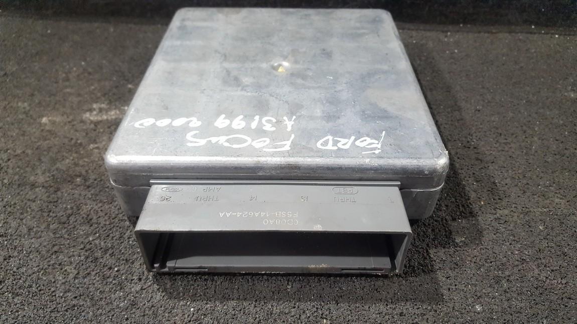 ECU Engine Computer (Engine Control Unit) f5sb14a624aa ys4f12a650pa Ford FOCUS 1999 1.8