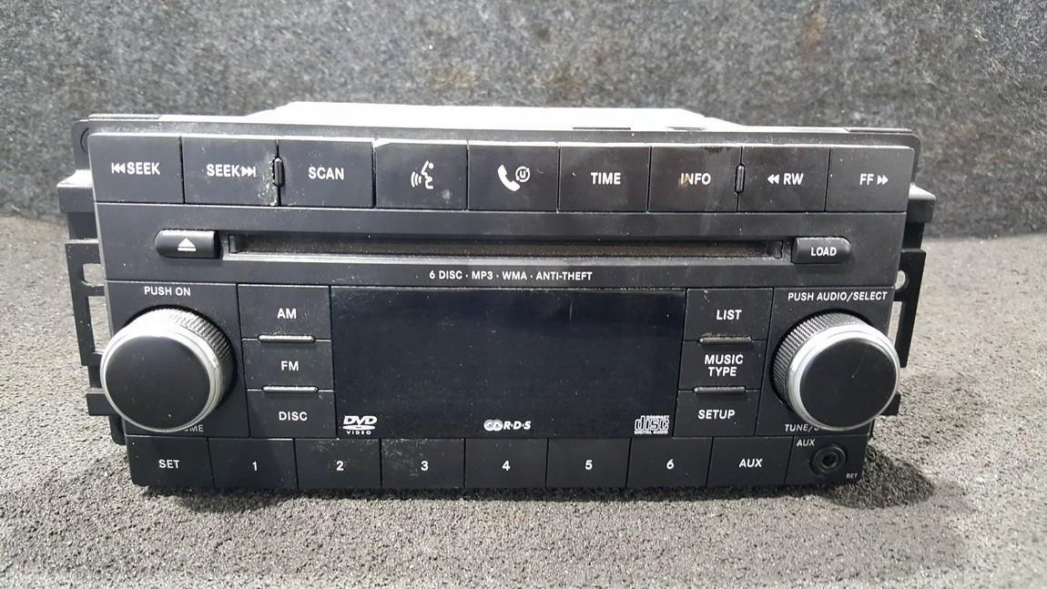Automagnetola 05064055AK 05979Z03-B, 05979Z03B, 05979Z02-A, 05979Z02A,  Dodge NITRO 2008 2.8