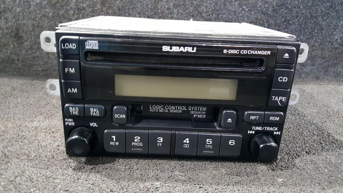 Automagnetola 86201FC080 CQ-EF7910A, CQEF7910A Subaru IMPREZA 2002 2.0