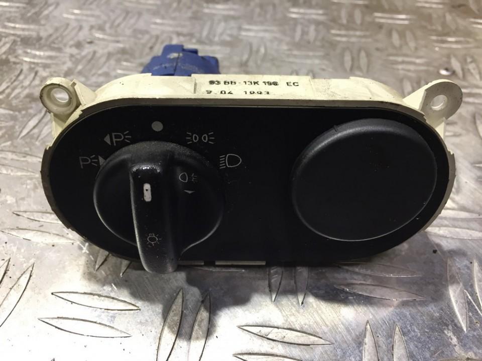 Headlight Switch Ford Mondeo 1993    1.8 93bb13k196ec