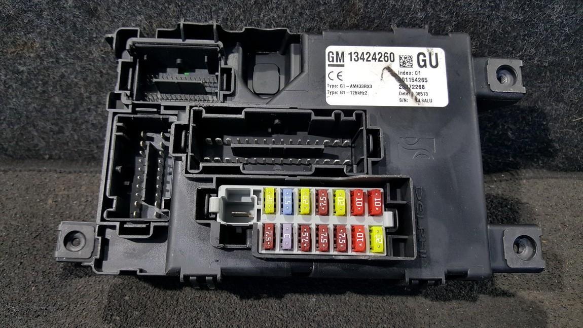 Komforto blokas 13424260 401154265, 28372268, G1-AM433RX3, G1AM433RX3 Opel CORSA 2007 1.2