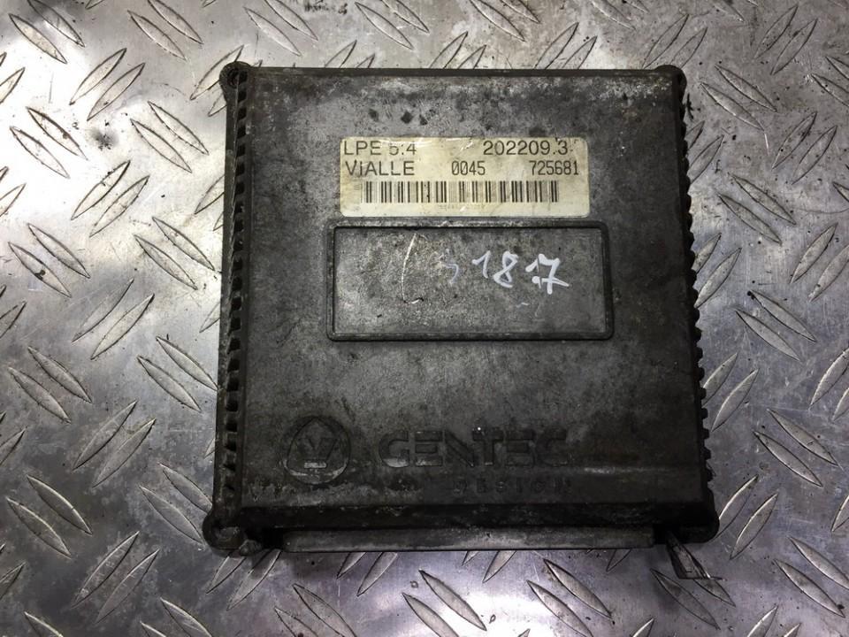 GAS control module (unit computer) Nissan Almera 2001    1.8 202209.3