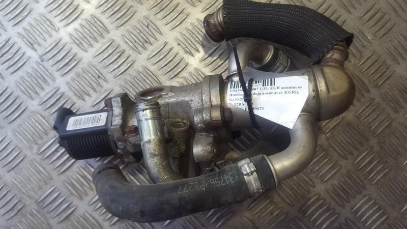 Труба ERG (Радиатор рециркуляции) (ЕГР) 55201144      Fiat DOBLO 2007 1.3