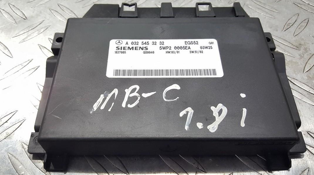 Transmission Computer  Mercedes-Benz C-CLASS 2005    1.8 A0325453232