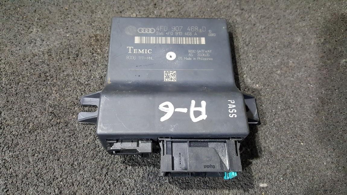 Kiti kompiuteriai 4F0907468D 4F0910468A Audi A6 2001 2.5