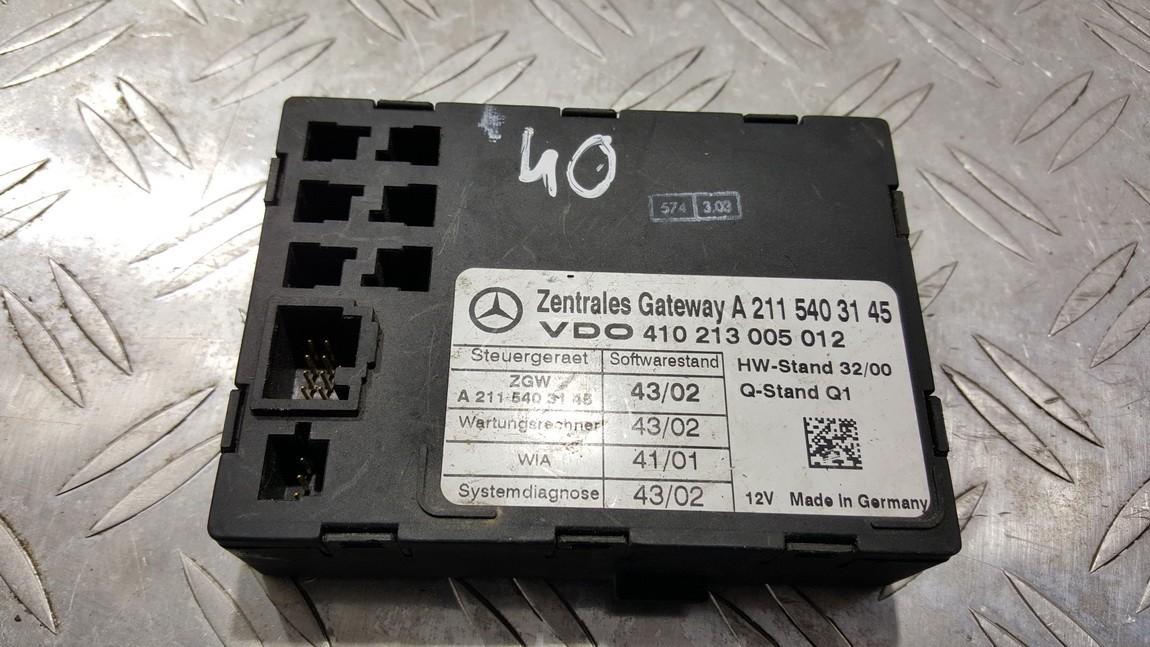 Duru valdymo blokelis A2115403145 410213005012, A2115403145 Mercedes-Benz E-CLASS 2001 2.9