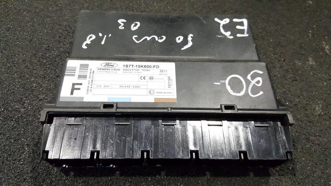 Другие компьютеры 1S7T15K600FD 1S7T-15K600-FD, 5WK48730F, T83SA, 5WK48862 Ford FOCUS 2004 1.8