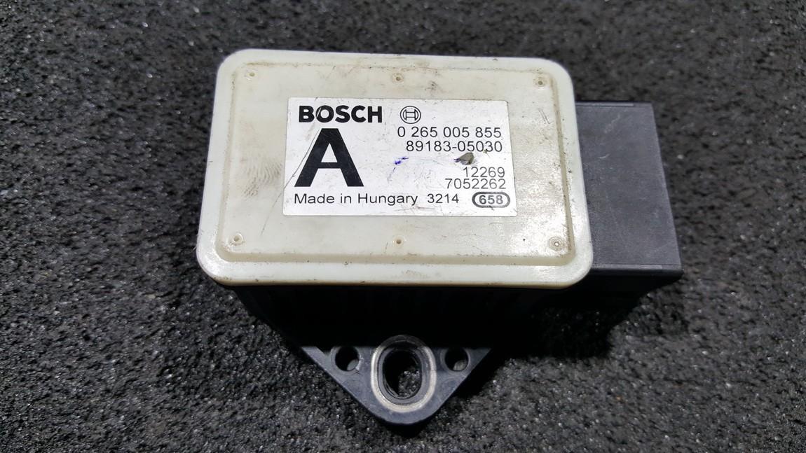 Esp Accelerator Sensor (ESP Control Unit) 0265005855 89183-05030, 8918305030 Toyota AVENSIS 2001 2.0