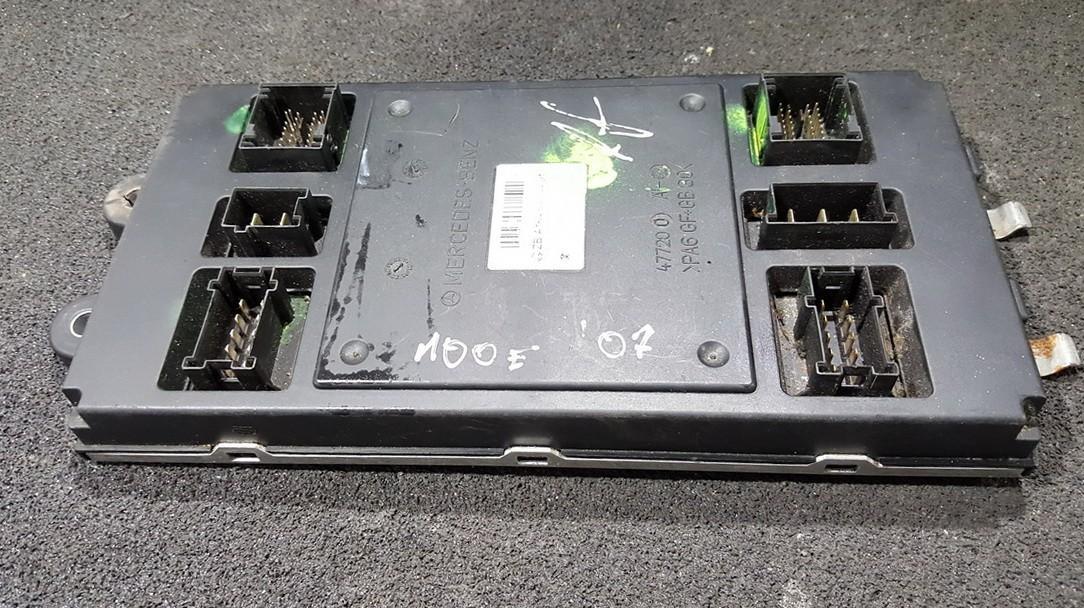 Komforto blokas A1645404401 A1645453616, A1644421700 Mercedes-Benz ML-CLASS 2002 2.7