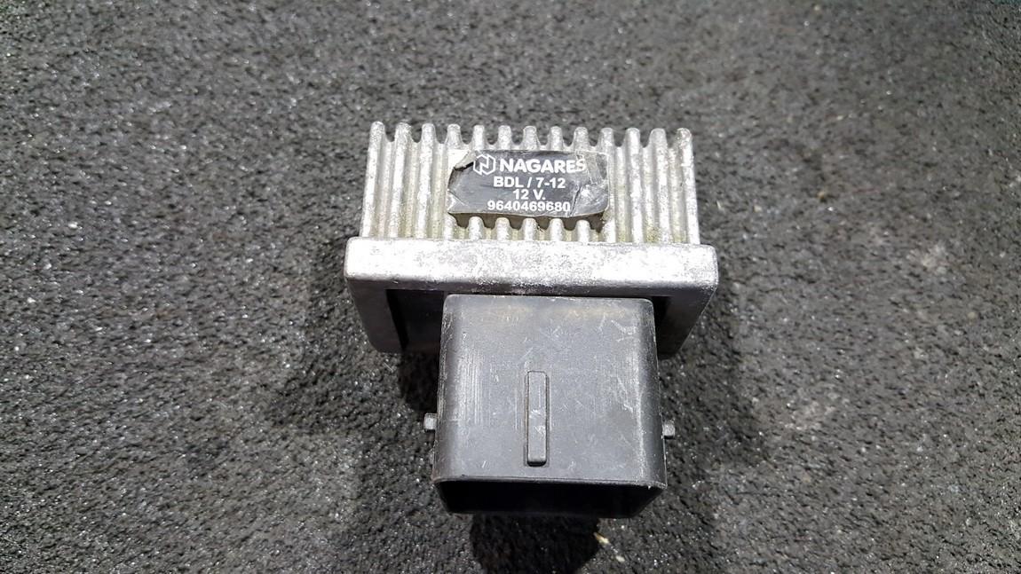 Zvakiu Pakaitinimo rele 9640469680 NENUSTATYTA Peugeot 207 2012 1.6