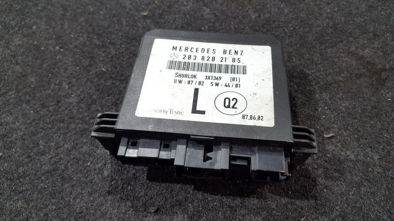 Door control relay Mercedes-Benz C-CLASS 2006    2.0 2038202185