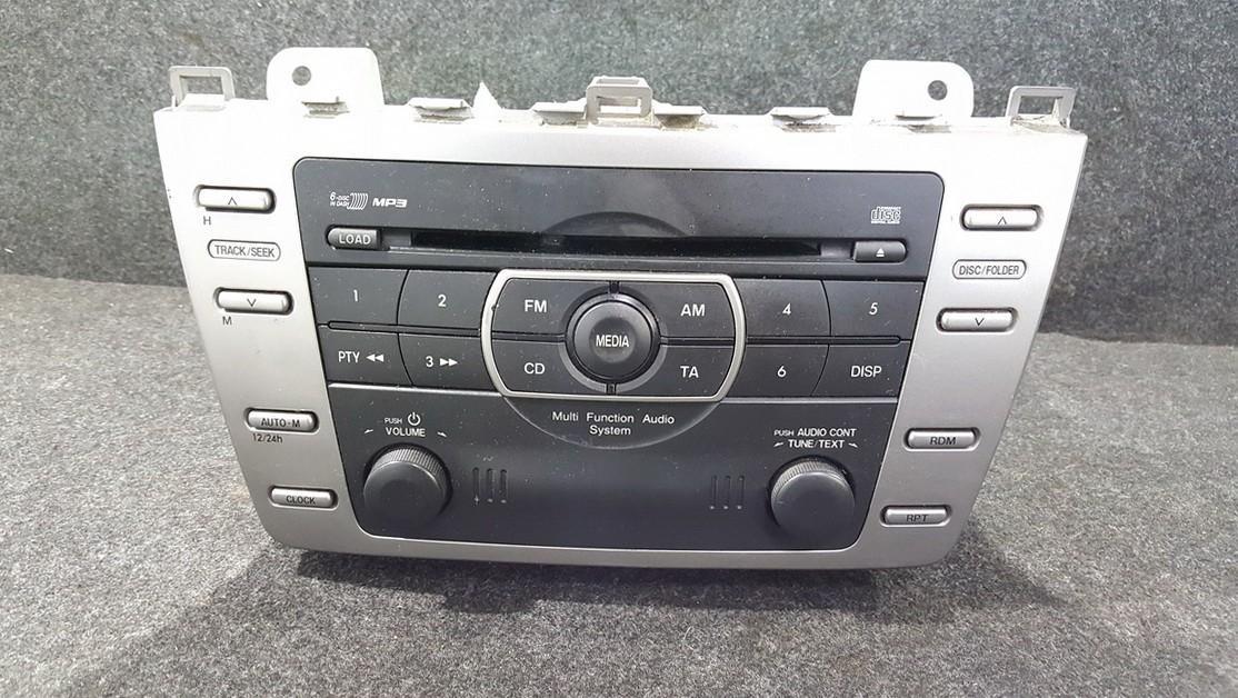 Autoradio Mazda 6 2006    0.0 GS1E669RXA