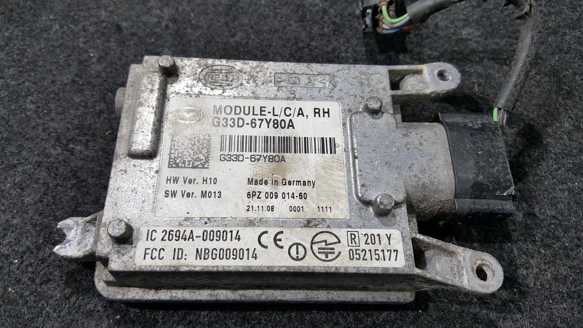 Kiti kompiuteriai G33D67Y80A G33D-67Y80A, 6PZ009014-60, 6PZ00901460, 2694A-009014, 2694A, 009014, NBG009014, 05215177 Mazda 6 2003 1.8
