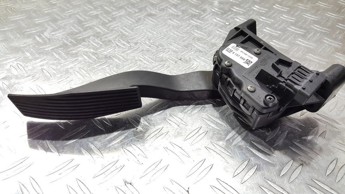Accelerator Pedal (potentiometer) Opel Astra 2008    0.0 9157998