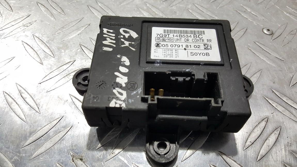 Door control relay Ford Mondeo 2008    0.0 7G9T14B534BC