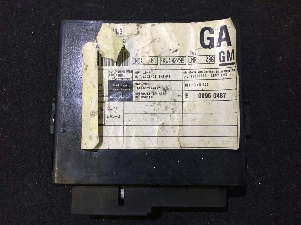 Door control relay Opel Omega 1999    2.5 09146063