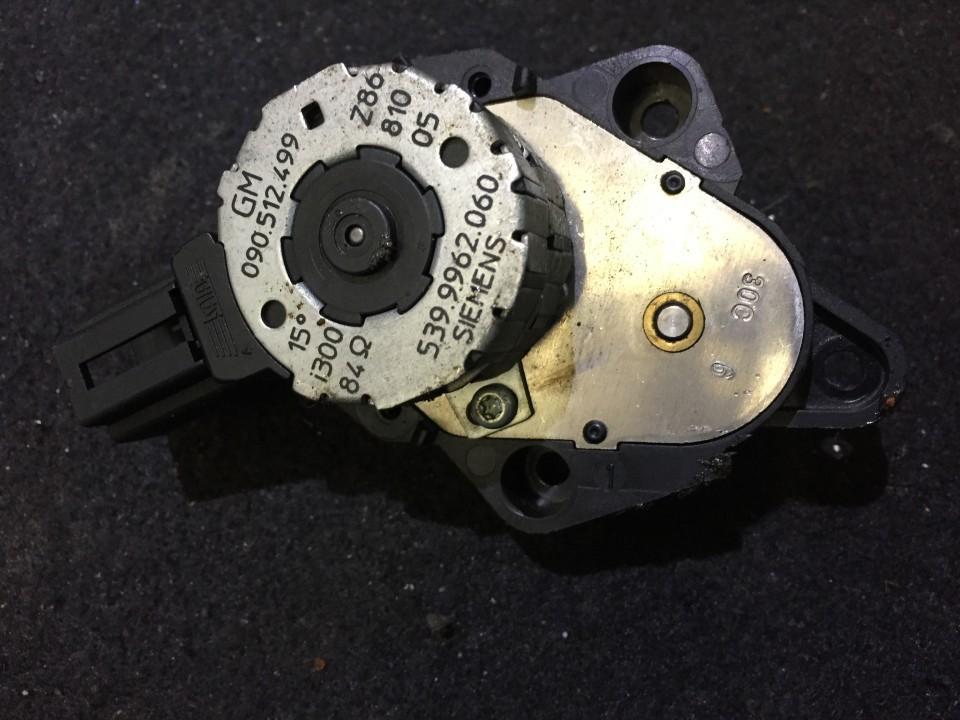Heater Vent Flap Control Actuator Motor 090512499 5399962060 Opel OMEGA 1996 2.0