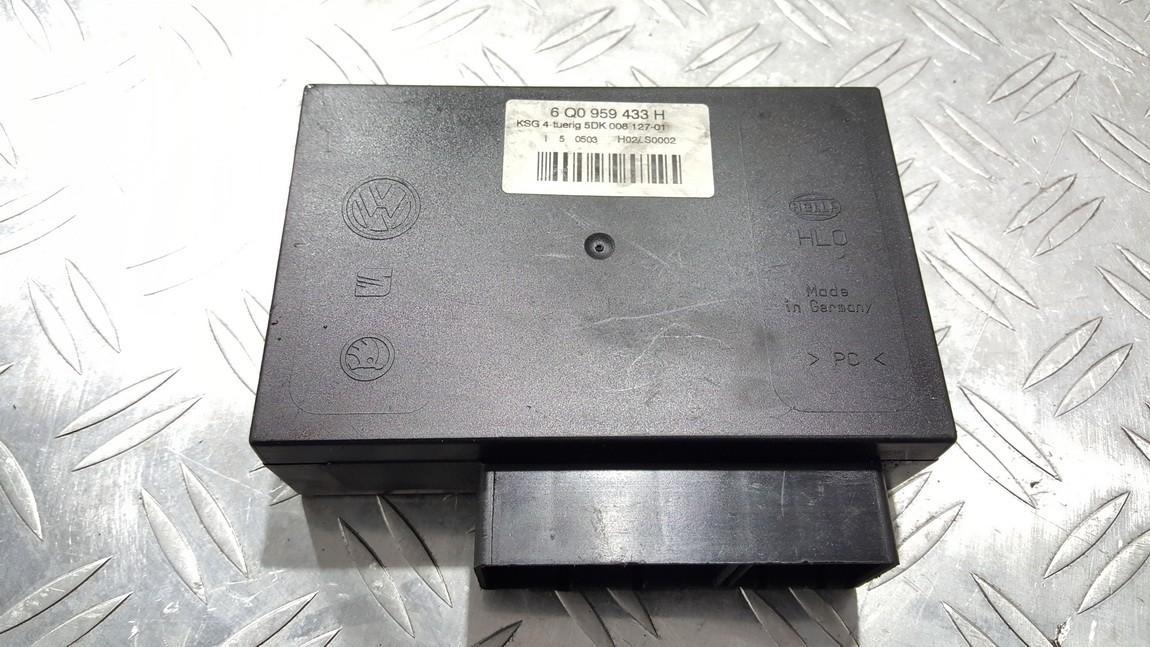 Door control relay Volkswagen Polo 2003    0.0 6Q0959433H