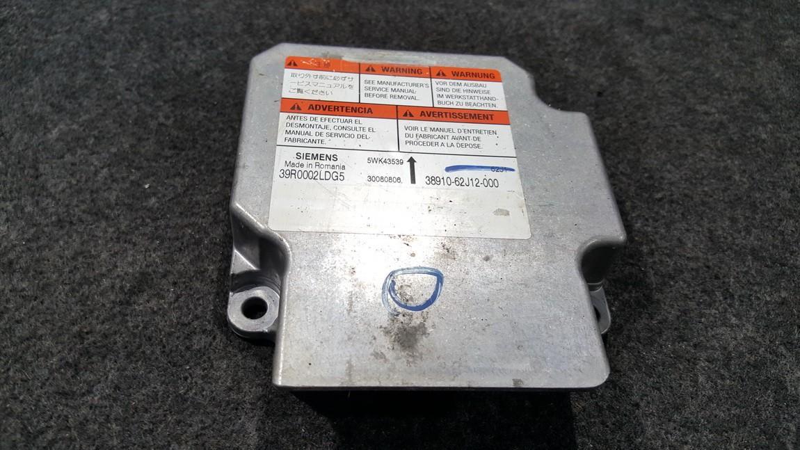 Airbag crash sensors module Suzuki Swift 2008    0.0 5WK43539