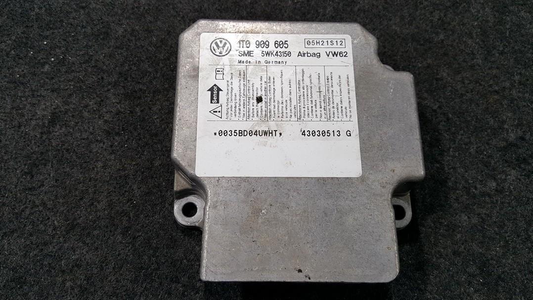 Airbag crash sensors module Volkswagen Touran 2005    0.0 1T0909605