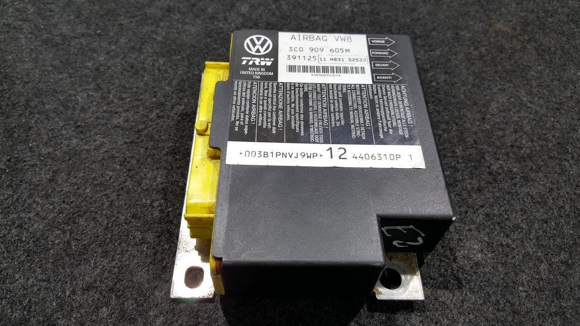 Airbag crash sensors module Volkswagen Passat 2008    0.0 3C0909605M
