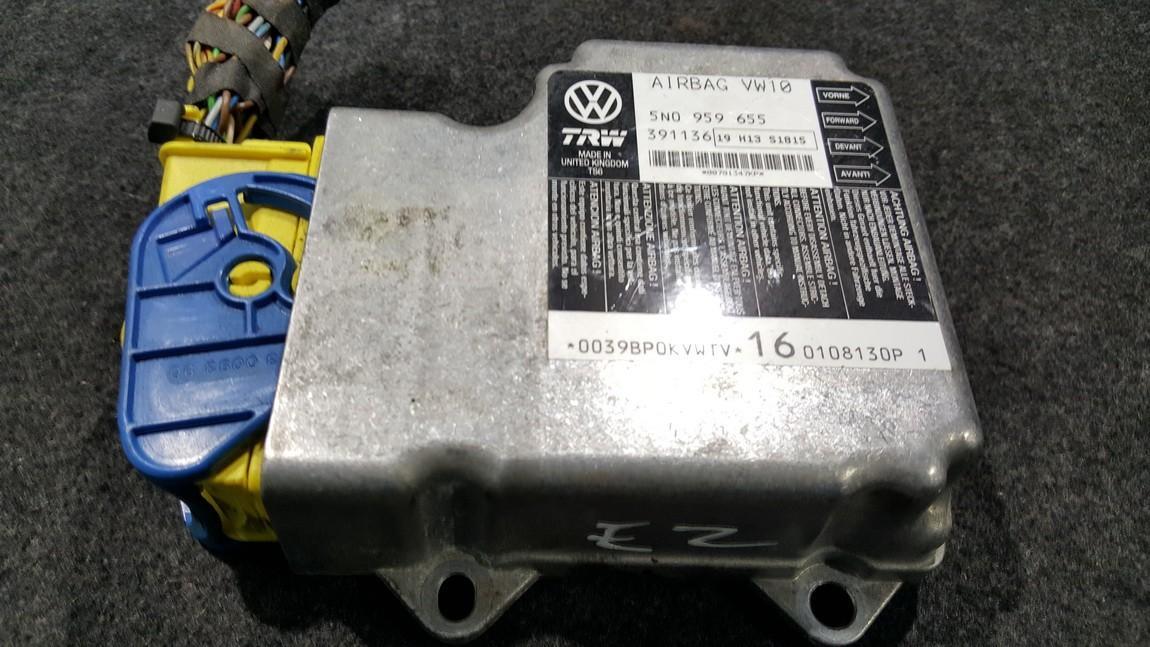 Airbag crash sensors module Volkswagen Tiguan 2010    0.0 5N0959655