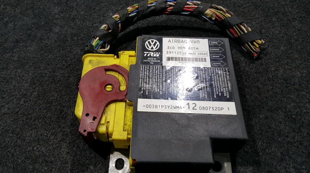 Airbag crash sensors module Volkswagen Passat 2006    0.0 3C0909605M