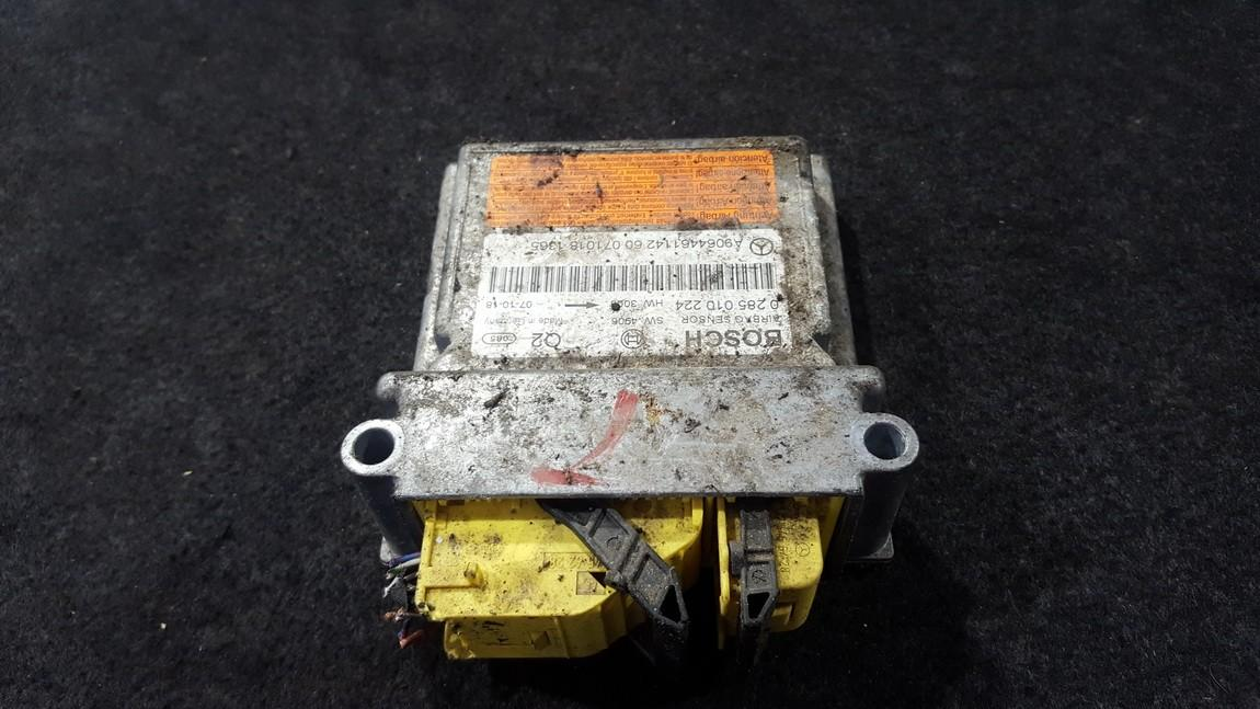 Airbag crash sensors module Volkswagen Crafter 2007    2.5 0285010224