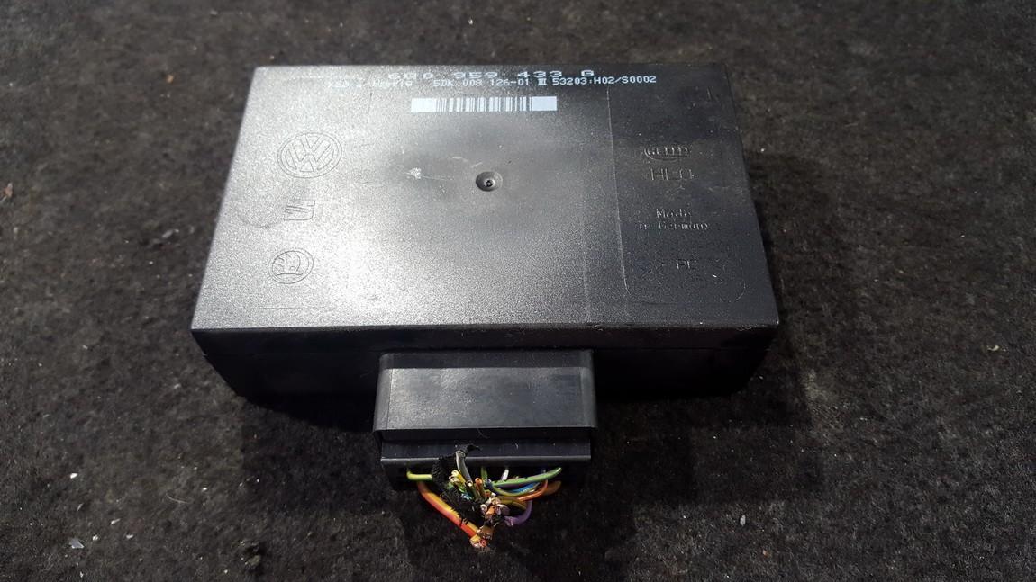 Komforto blokas 6q0959433g nenustatyta Volkswagen POLO 2003 1.2