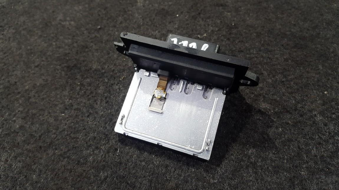 Heater Resistor Nissan Micra 2008    1.2