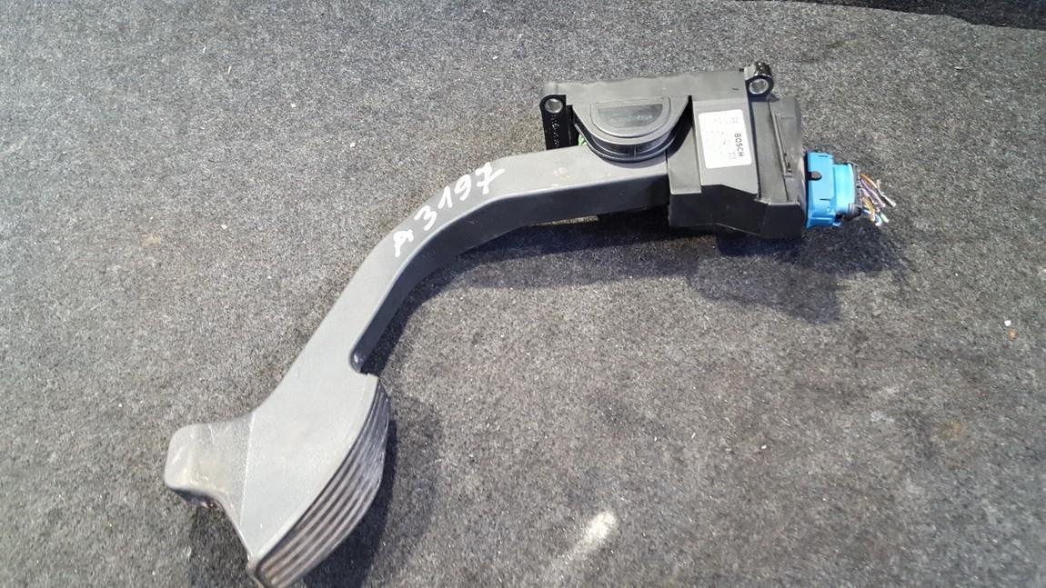 Акселератор (газа) педаль электронная  0281002460 71718036 Fiat DOBLO 2007 1.3