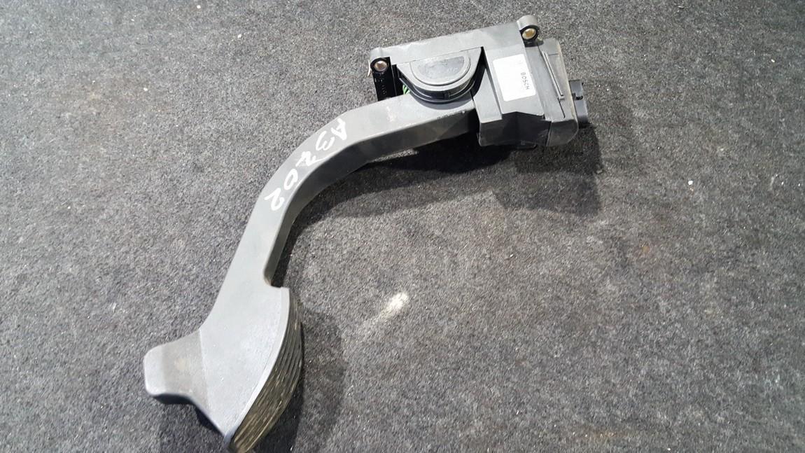 Акселератор (газа) педаль электронная  0281002460 71718036 Fiat DOBLO 2008 1.9