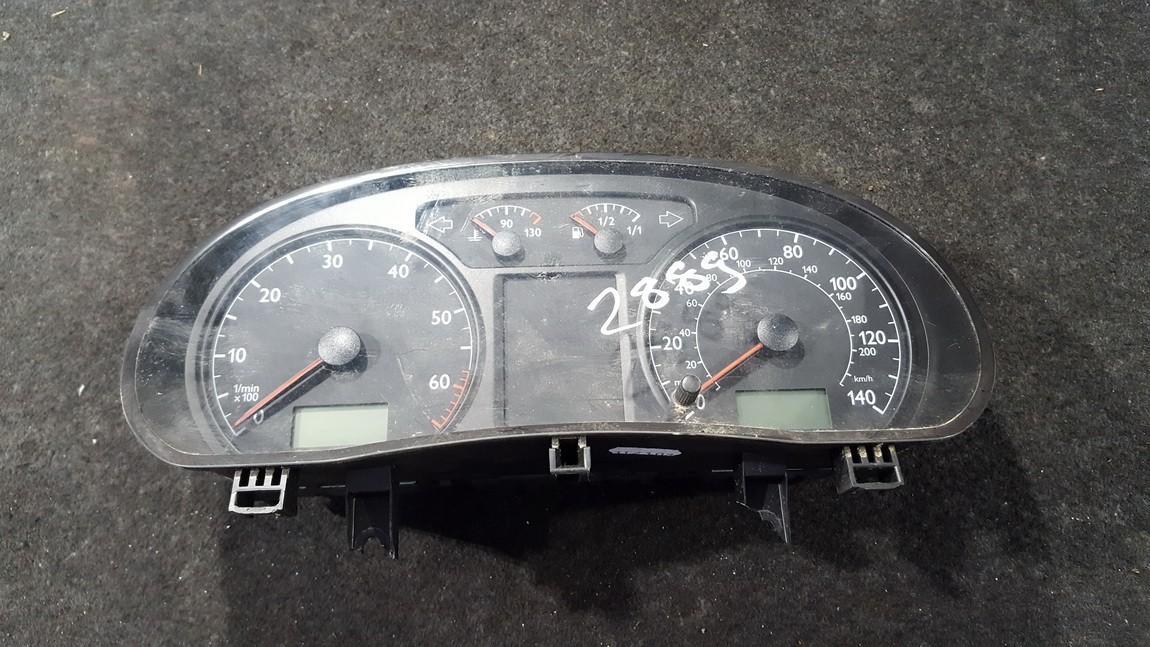 Spidometras - prietaisu skydelis 6q0920900h v03 Volkswagen POLO 1993 1.0