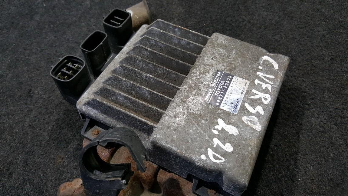 Kuro purkstuku valdymo blokas (kompiuteris) 8987120070 89871-20070, 131000-1371, 1310001371 Toyota COROLLA VERSO 2004 2.0