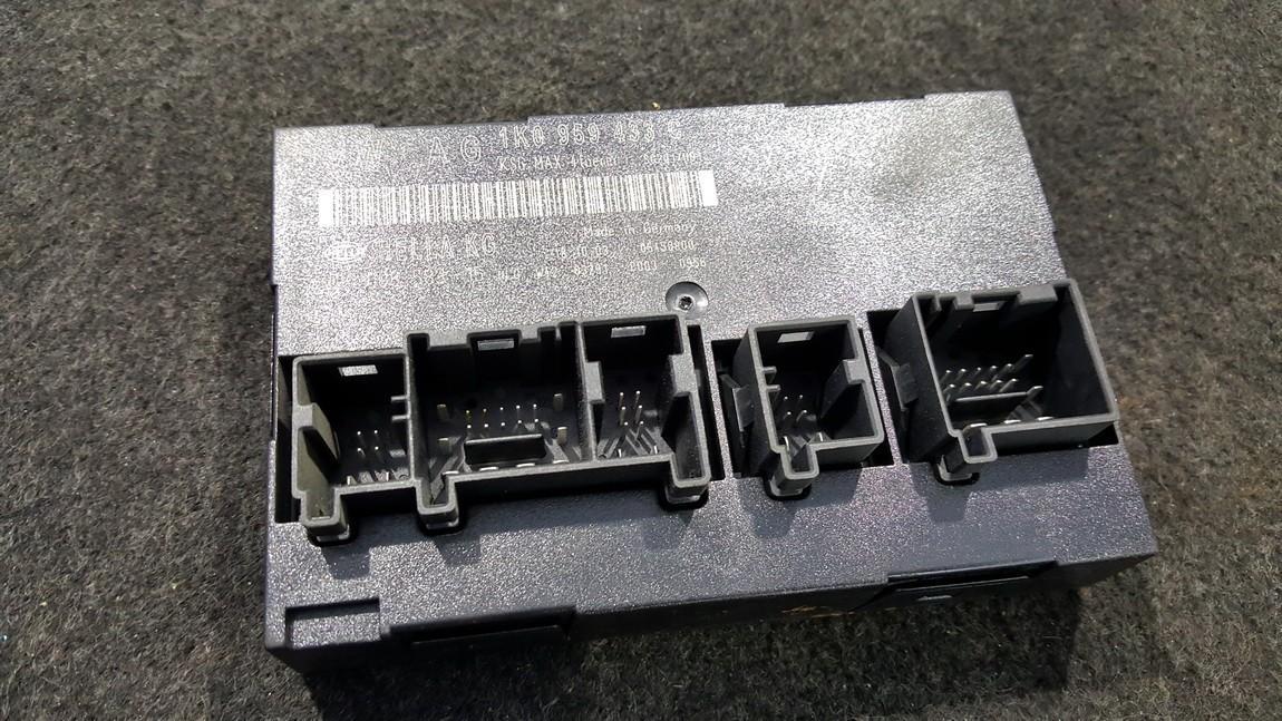 General Module Comfort Relay (Unit) 1K0959433C 5DK008583-15, 5DK00858315 Volkswagen TOURAN 2004 2.0